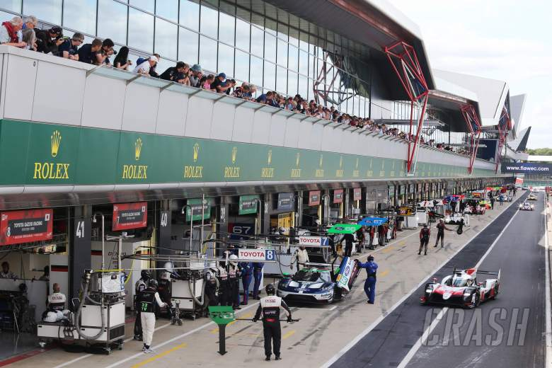 Sportscars: WEC 6 Hours of Silverstone - Free Practice 2 Results