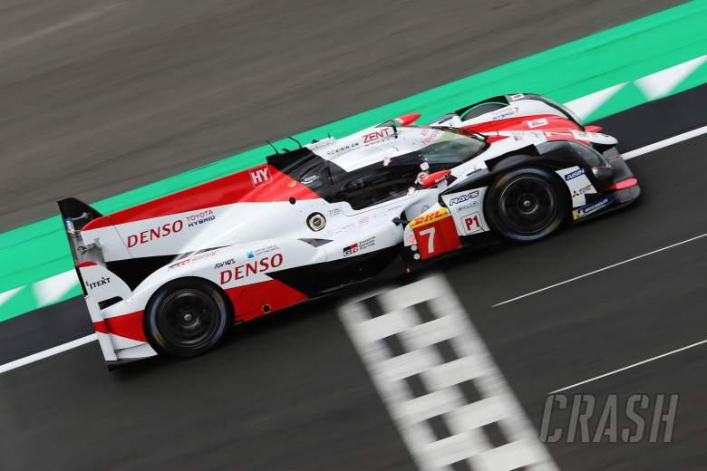 Sportscars: Lopez fastest for Toyota in Silverstone WEC FP2