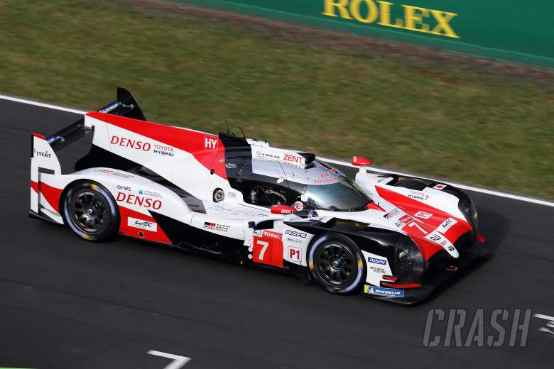 Kobayashi fastest for Toyota in Le Mans practice