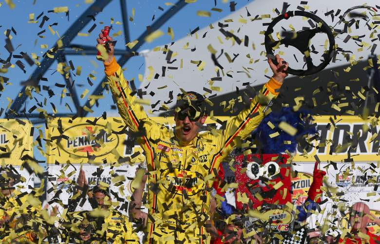 NASCAR: Logano hits the jackpot in Las Vegas