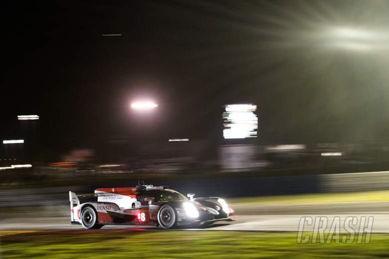 Sportscars: Alonso, Nakajima take Sebring WEC pole