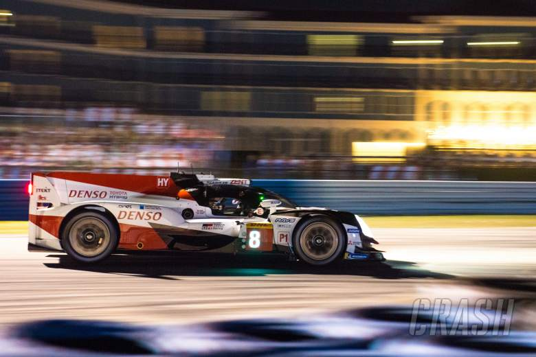 Sportscars: Toyota takes Sebring WEC victory led by #8 car