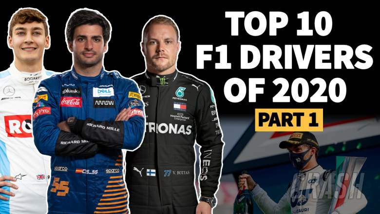 VIDEO: Who were the top 10 drivers of the 2020 F1 season? Part 1