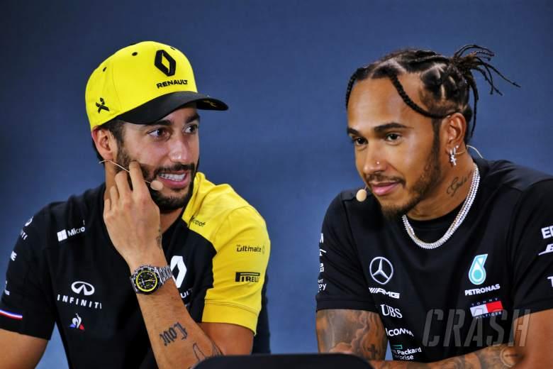 Ricciardo: Hamilton's relentless F1 success warrants respect