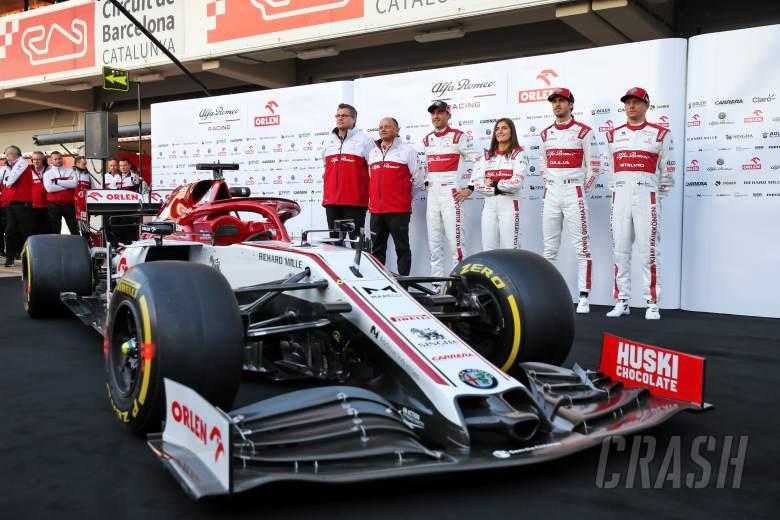 Alfa Romeo becomes final F1 team to launch 2020 car