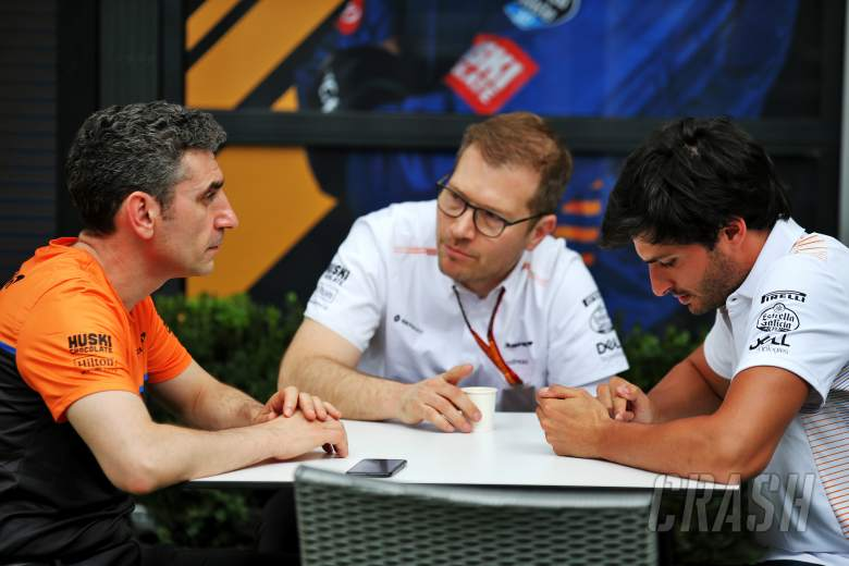 Top McLaren F1 personnel supporting staff in Melbourne