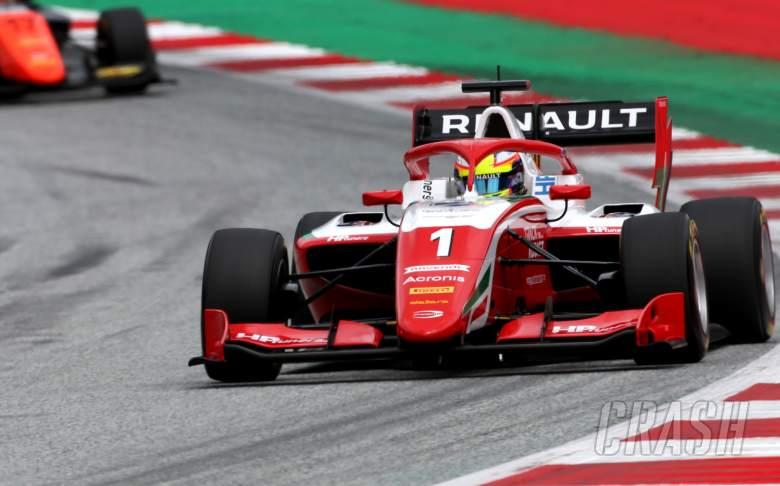 Piastri survives T1 clash to win on F3 debut in Austria