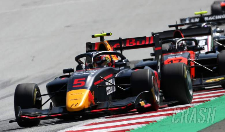 Liam Lawson braves it out for F3 win in Austria