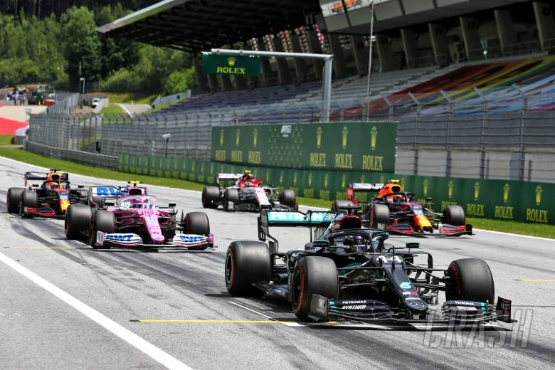 F1 Styrian Grand Prix 2020 - Starting Grid
