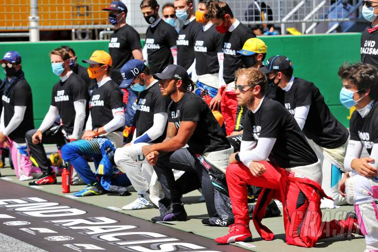 How F1's anti-racism stand will be conducted at British GP
