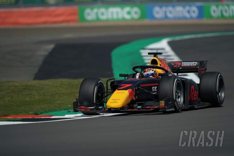 Tsunoda takes first F2 win after Prema's collide at Silverstone