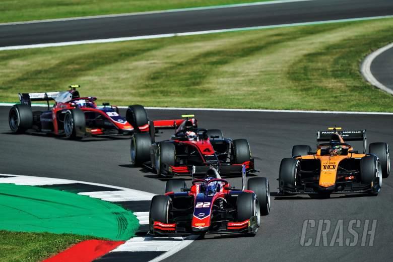 FIA F2 Silverstone - Sprint Race Results