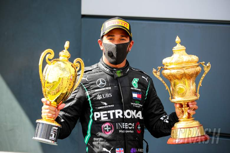 Lewis Hamilton has portoin of Silverstone named in his honour