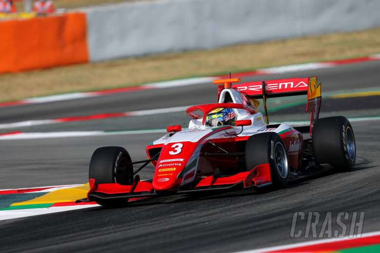 Sargeant claims third straight Formula 3 pole in Spain