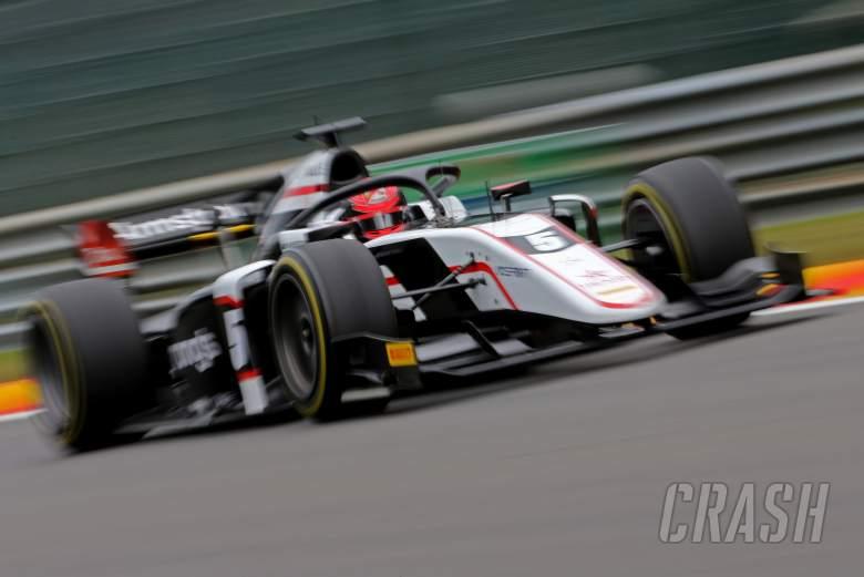 FIA F2 Belgium - Feature Race Results