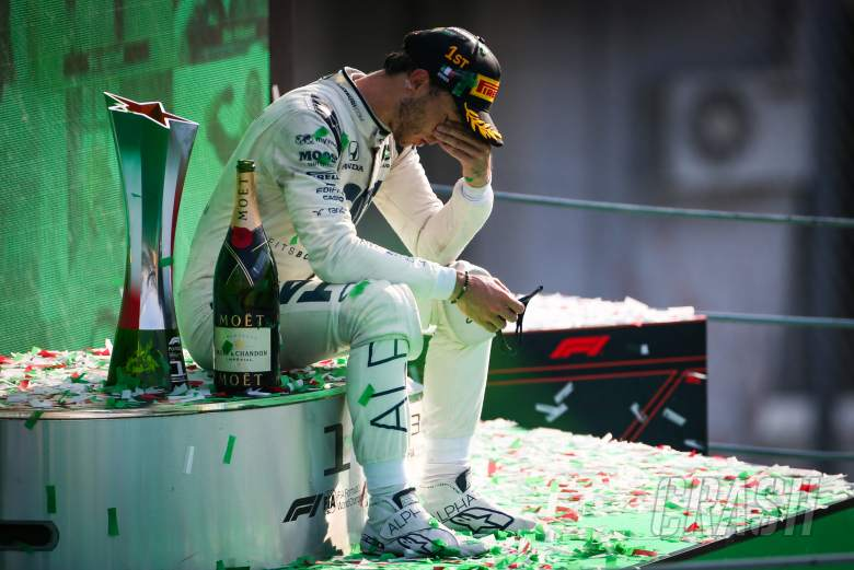 """Gasly 'struggling to realise' """"unbelievable"""" first F1 win"""
