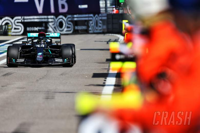 """Mercedes feared F1 stewards were """"not going to like"""" Hamilton's practice starts"""