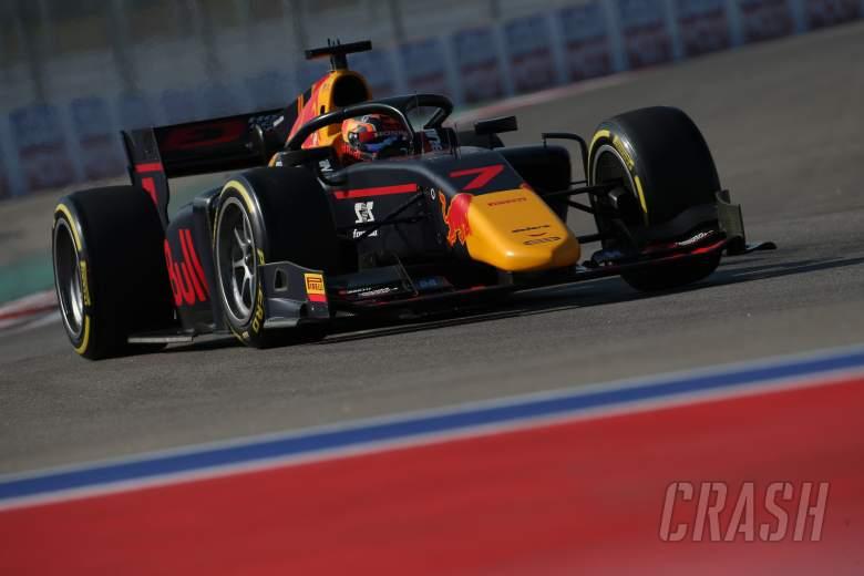 Yuki Tsunoda claims F2 pole in tightly-contested qualifying at Sochi