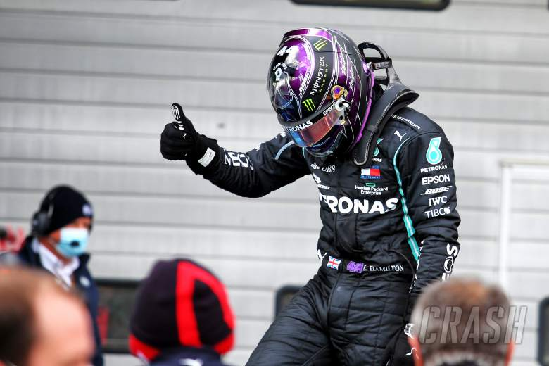 Hamilton takes 91st F1 victory at Eifel GP to match Schumacher