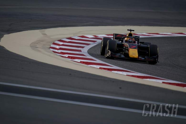 Tsunoda secures F2 pole in chaotic Sakhir qualifying, Schumacher only 18th