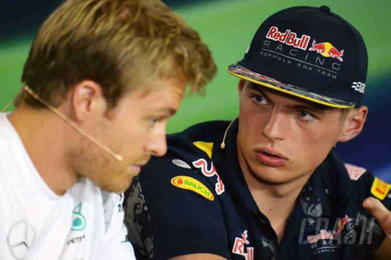 Nico Rosberg, Max Verstappen, F1,
