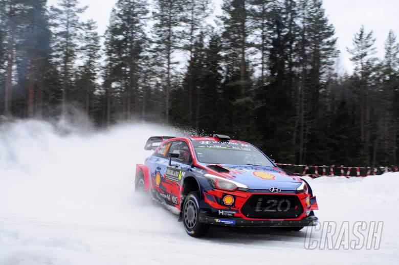 Thierry Neuville, Hyundai, WRC, Rally Sweden,