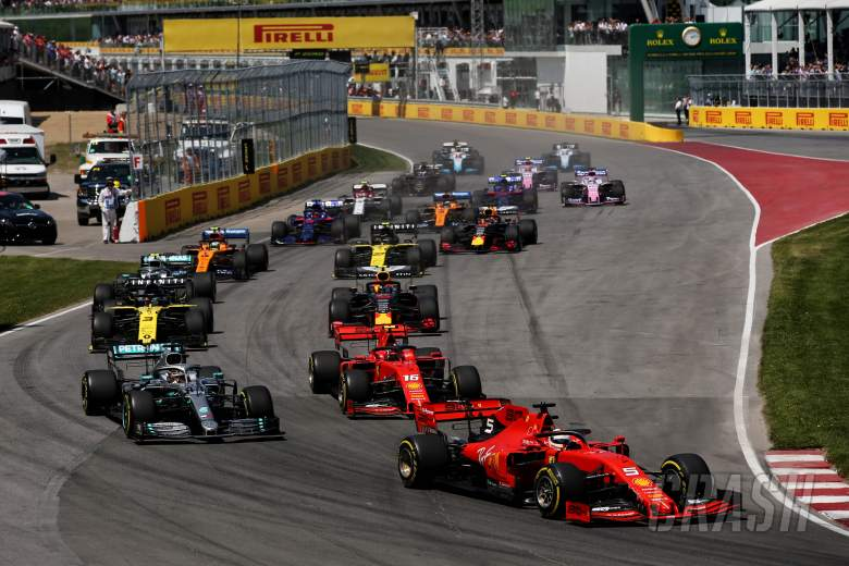 Canadian Grand Prix, start,