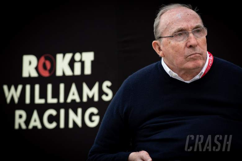 Formula One great Sir Frank Williams in stable condition in hospital