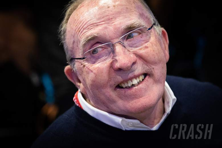 """Sir Frank Williams """"one of the most honest people in F1"""" - Hamilton"""