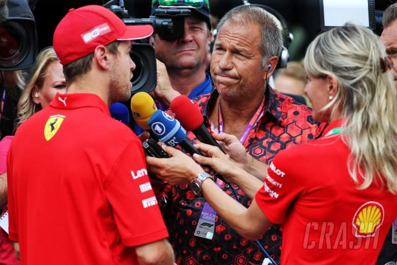 Sebastian Vettel, Ferrari, F1, TV,