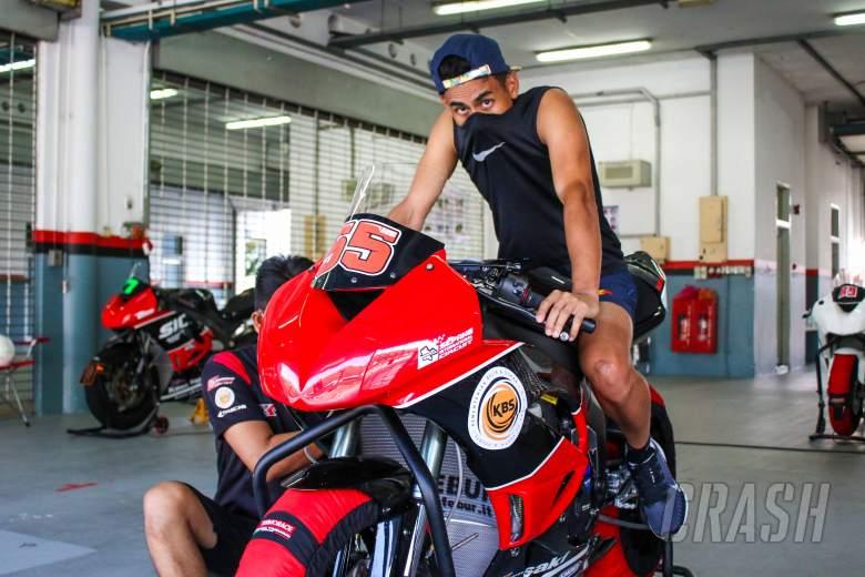Syahrin, Pawi on track at Sepang