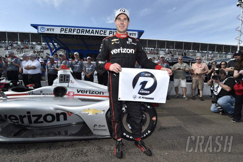 IndyCar: Power pips Newgarden for eighth St. Pete pole