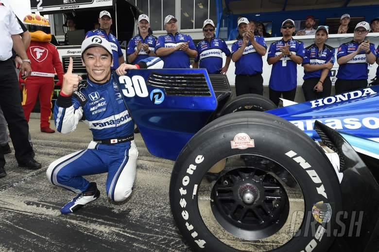 NASCAR: Takuma Sato bests Graham Rahal for RLL Barber lockout