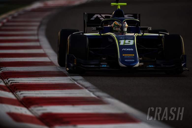 F2: Carlin's Deletraz fastest in opening Abu Dhabi F2 test