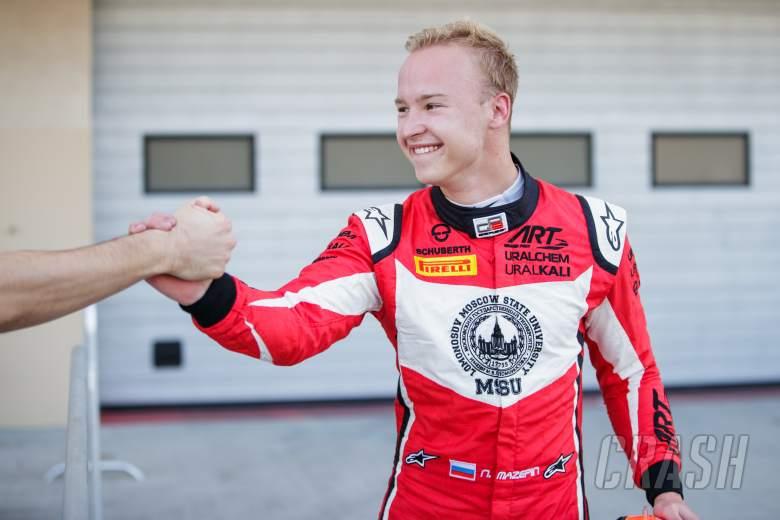 Open Wheel: ART GP's Mazepin wins final GP3 race in Abu Dhabi