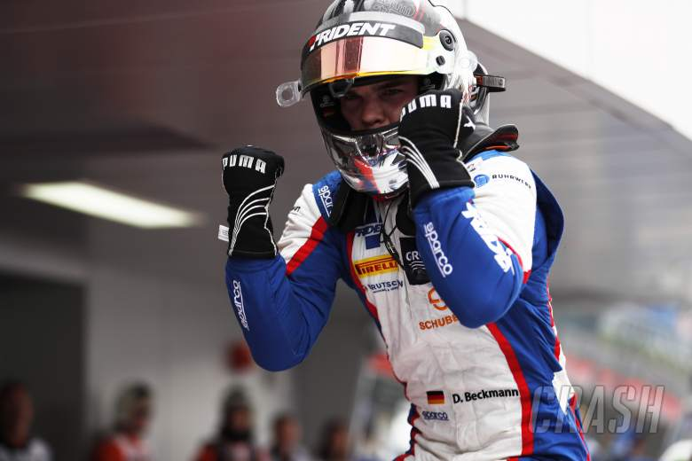 Open Wheel: Beckmann snatches third GP3 win from Mawson on last lap