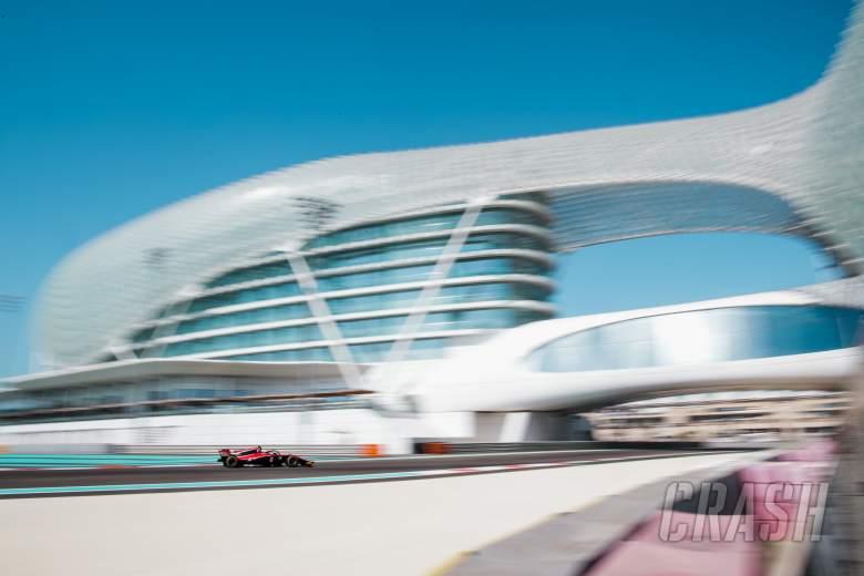 F2: F2 Abu Dhabi - Qualifying Results