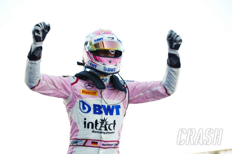 F2: Gunther holds off Russell to take maiden F2 win at Silverstone