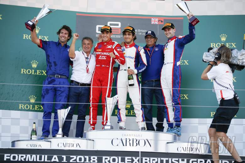 F1: GP3 Great Britain - Race 2 Results