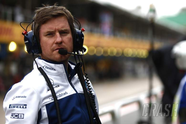 F1: Smedley to leave Williams F1 role at end of 2018