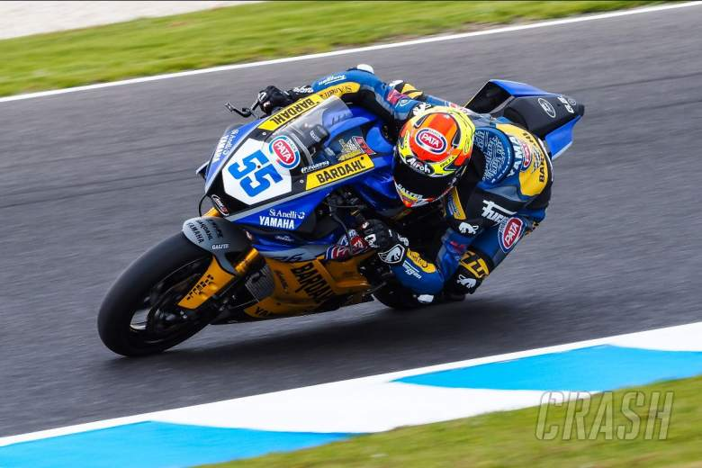 Andrea Locatelli, Bardhal Evan Bros Yamaha, World Supersport,