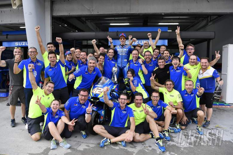 MotoGP: Alex Rins, Suzuki, David Brivio,