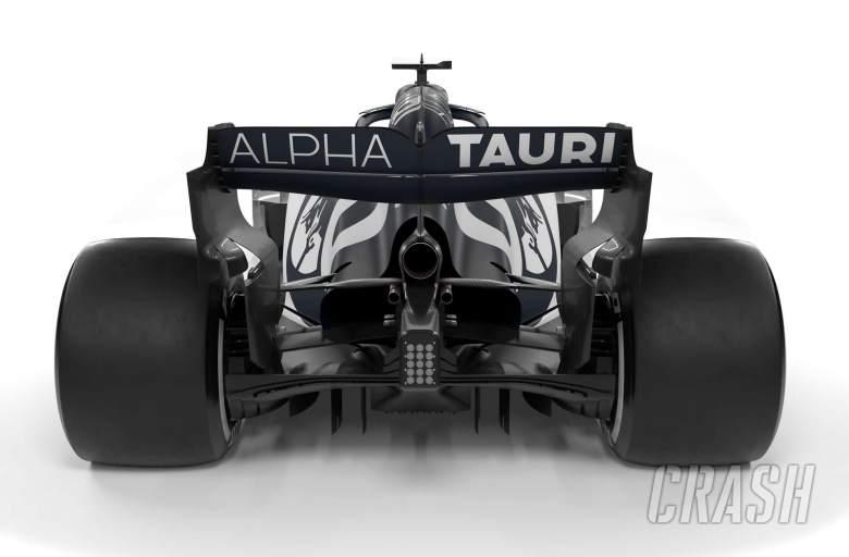 Scuderia AlphaTauri Honda, AT01,