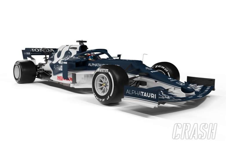 AlphaTauri launches AT02 F1 car ahead of 2021 season