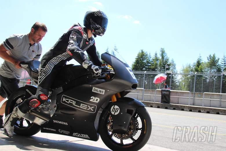 MotoGP: Jonas Folger back on track with Kalex-Triumph