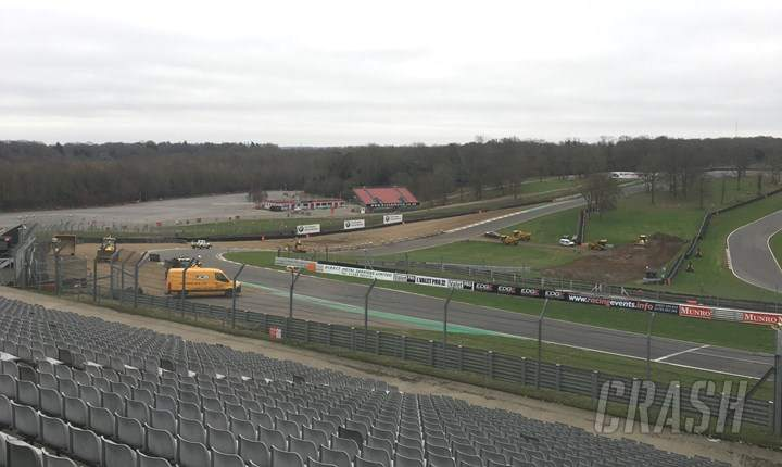 Brands Hatch, improvements,