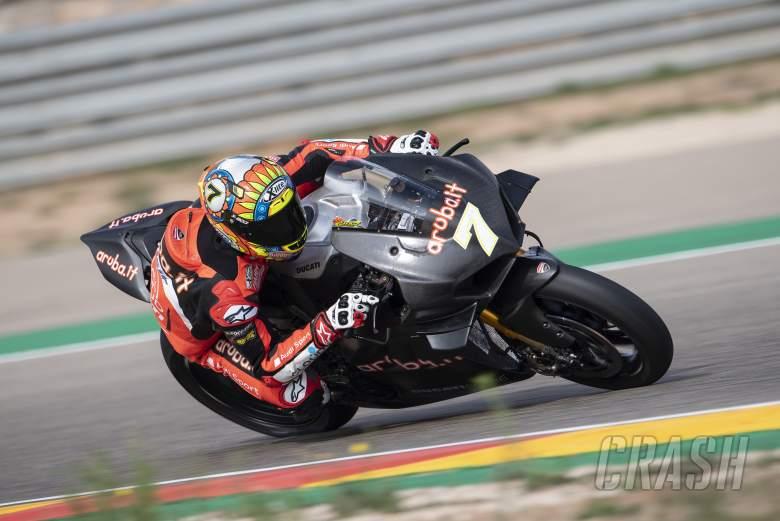 World Superbikes: Chaz Davies, Aruba.it Racing Ducati,