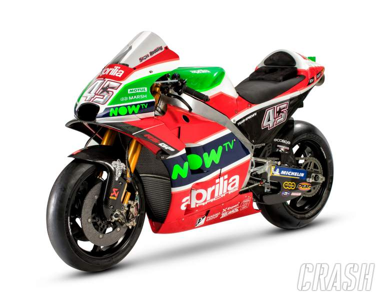 MotoGP: Aprilia targets top five with new RS-GP