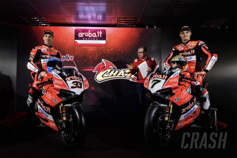 World Superbikes: Aruba.it Racing Ducati, Chaz Davies, Marco Melandri,