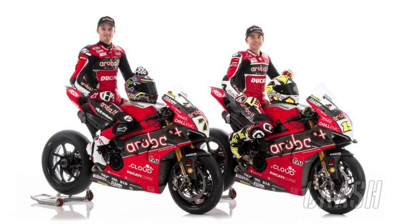 World Superbikes: Davies, Bautista reveal Aruba.it Racing Ducati V4 R colours